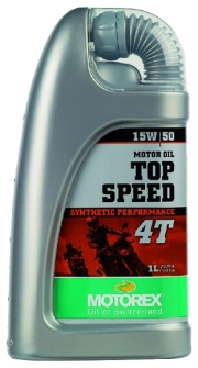 Масло Motorex 15w50 4Т Top Speed Synt  1л 304965