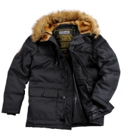 Куртка Alpha Arctic Jacket black 123146