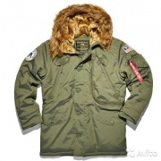 Куртка Alpha Polar Jacket dark green 123144